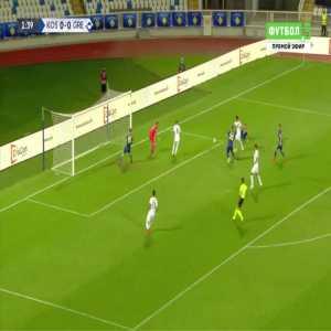 Kosovo 0-1 Greece - Dimitrios Limnios 2'