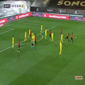 Spain 4-0 Ukraine - Ferran Torres 84'
