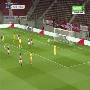 Austria 0-1 Romania - Denis Alibec 3'