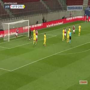 Austria [1]-1 Romania - Christoph Baumgartner 17'