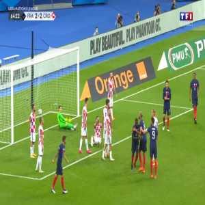 France [3] - 2 Croatia - Upamecano 65'