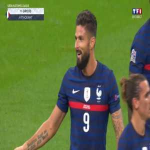 France [4]-2 Croatia - Olivier Giroud penalty 76'