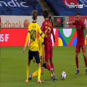 G. Svensson 2nd yellow card against Portugal 44'