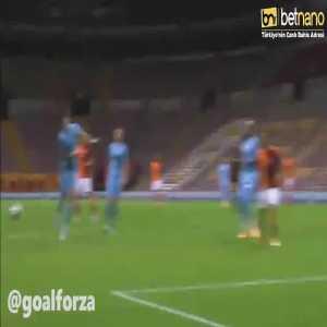 Galatasaray 1-0 Gaziantep - Radamel Falcao penalty 8'