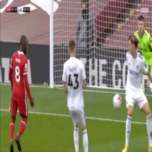 Liverpool [1]-0 Leeds United - M. Salah penalty 4'