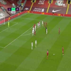 Liverpool [3] - 2 Leeds - Salah 33'