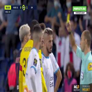 Every red cards from the PSG-Marseille end of game (Jordan Amavi and Dario Benedetto for Marseille, Layvin Kurzawa, Neymar, and Leandro Paredes for PSG)