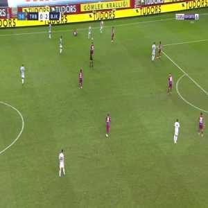 Trabzonspor 0-3 Besiktas - Jeremain Lens 74'