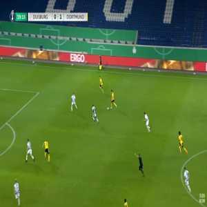 Duisburg 0-2 Dortmund - Jude Bellingham 30'