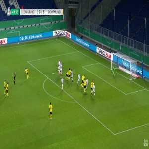 Duisburg 0-4 Dortmund - Axel Witsel 50'