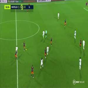 Montpellier 2-0 Lyon - Teji Savanier 59'