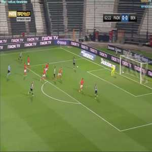 PAOK 1-0 Benfica - Dimitris Giannoulis 63'