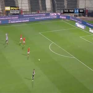 PAOK 2-0 Benfica - Andrija Zivkovic 75'
