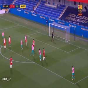 Barcelona [2]-0 Girona - Messi 45'