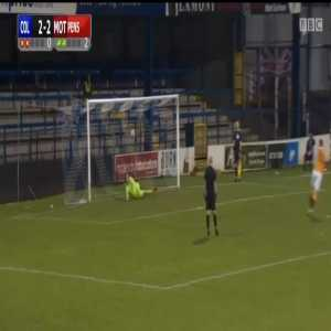 Coleraine vs Motherwell - Penalty shootout (0-3)