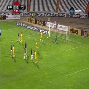 Lokomotiv Plovdiv 1 - [1] Tottenham - Harry Kane penalty 80' (2 red cards for Plovdiv)