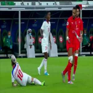 Mehdi Benatia (Al Duhail) red card vs Sharjah