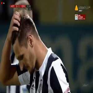 Ridiculous own-goal in Romanian Liga 1 - Ljuban Crepulja (Astra Giurgiu) vs CFR Cluj