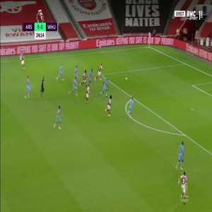 Arsenal [1] - 0 West Ham - Lacazette 25'