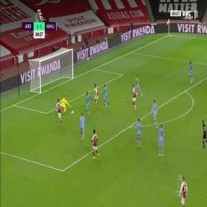Arsenal [2] - 1 West Ham - Nketiah 85'