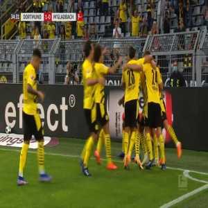 Borussia Dortmund [1]-0 Borussia Mönchengladbach - G. Reyna 35'
