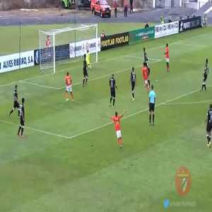 Casa Pia 0 - [4] SL Benfica B - Ronaldo Camará 87' (Great team goal)