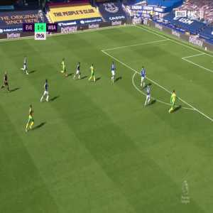 Everton 0 - [1] West Brom - Diangana 10'
