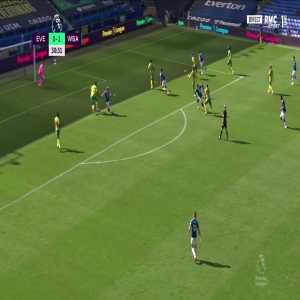 Everton [1] - 1 West Brom - Calvert-Lewin 31'