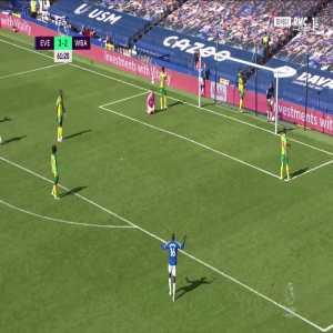 Everton [4] - 2 West Brom - Calvert-Lewin 62'