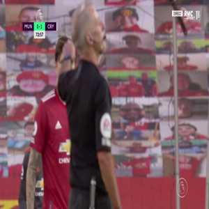 Manchester United 0 - [2] Crystal Palace - Wilfried Zaha penalty 74'