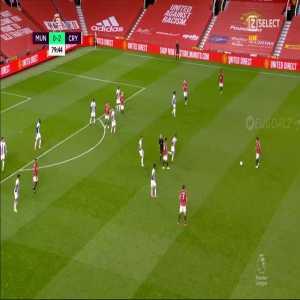 Manchester United [1]-2 Crystal Palace | Van De Beek 80'