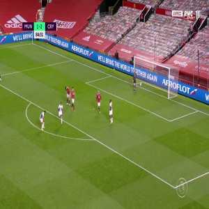 Manchester United 1 - [3] Crystal Palace - Wilfried Zaha 85'