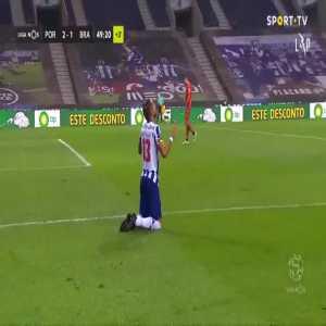 Porto [2]-1 Braga - Alex Telles penalty 45+4'