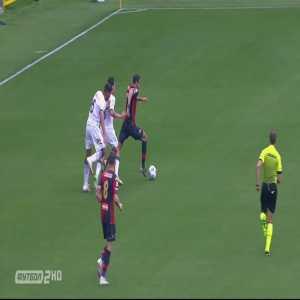 Genoa [3]-1 Crotone - Davide Zappacosta 34'