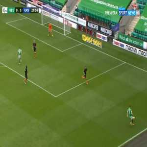 Hibernian 1-0 Rangers - Drey Wright 22'