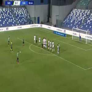 Sassuolo [1]-1 Cagliari - Bourabia free-kick 87'