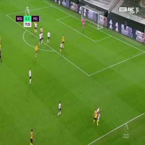 Wolves [1] - 2 Manchester City - Raul Jimenez 78'
