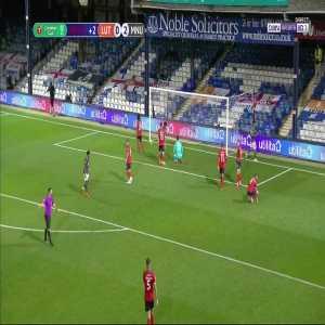 Luton Town 0 - [3] Manchester United - Mason Greenwood 90+2'