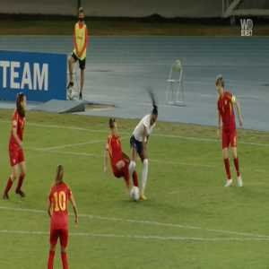North Macedonia W 0-2 France W - Eugenie Le Sommer penalty 18'