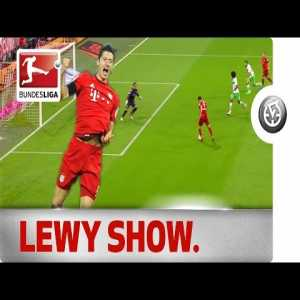 On this day five years ago, Robert Lewandowski came on as a substitute at half-time with Bayern Munich losing 1-0 to Wolfsburg and scored five goals in under nine minutes
