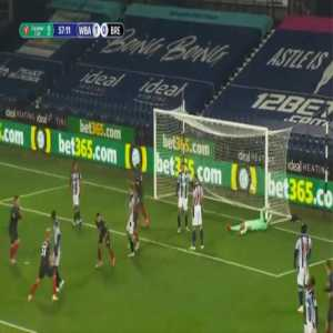 West Brom 1-[1] Brentford - Emiliano Marcondes bicycle kick 58'