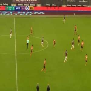 West Ham 2-0 Hull - Sebastien Haller 45'