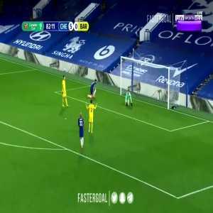 Chelsea 6-0 Barnsley - Oliver Giroud 83'