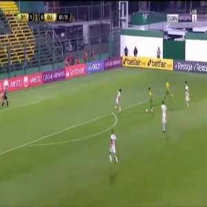 Defensa y Justicia 2-0 Olimpia Asuncion - Braian Romero 62'
