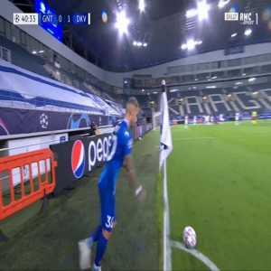 Gent [1]-1 Dynamo Kyiv - Tim Kleindienst 41'