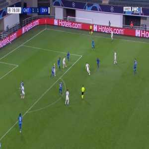 Gent 1-[2] Dynamo Kyiv - Carlos De Pena 79'