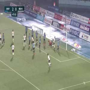 Kawasaki Frontale 2-(1) Yokohama FC - Yuki Kobayashi goal (Shunsuke Nakamura assist)