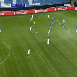 Molde 0-2 Ferencvaros - Myrto Uzuni 53'
