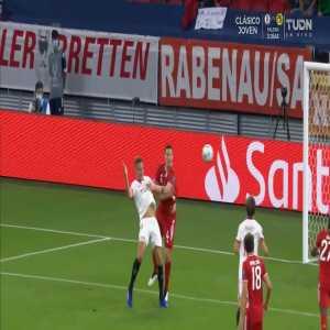 Bayern Munich 0-1 Sevilla: Lucas Ocampos penalty goal 12'