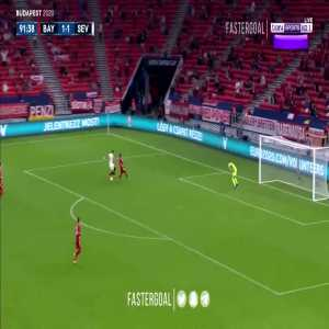 Bayern - Sevilla 92' Great Neuer save (offside)